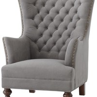 Delia Tufted Wingback Chair - Wing Chair - Wing Chairs - Wing Back Chair - Wingback Chair - Tufted Chair - Living Room Chair | HomeDecorators.com