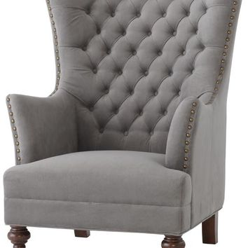 Delia Tufted Wingback Chair Wing Chairs Back Ch