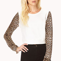 Wild Thing Cropped Sweatshirt