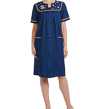 Go Softly Patio Denim Harvest Patio Dress