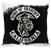 ⭐️' CUSTOM COUCH PILLOW SON OF ANARCHY CALIFORNIA '⭐️