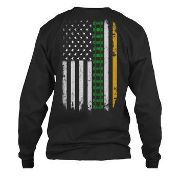 Patrick's Day - IRISH RAILROADER ST. PATRICK'S DAY -Unisex Long Sleeve - SSID2016