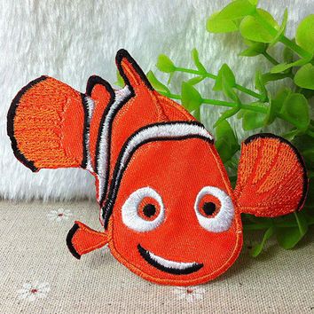 Finding Nemo iron on applique embroidery E020 by happysupply