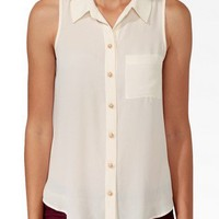 Essential Sleeveless Shirt