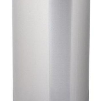 HomeZone VA40916A 40-Liter Stainless steel Oval Step Trash Can by Home Zone