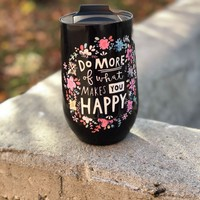 Natural Life Wine Tumbler - Do More