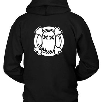 DCCK7H3 Ghost Town Band Logo Classic Hoodie Two Sided