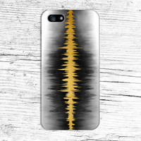 Golden Sound Wave x Black Trees x White Wood Phone Case for iPhone 6 6+ iPhone 5 5s 5c 4 4s and Samsung Galaxy s5 s4 & s3 and Note 5 4 3 2