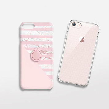 Marble Print iPhone 7 Case Marble Phone Ring Rose Gold TOUGH iPhone 8 Case Marble Gift for Her Samsung Galaxy S6 Case iPhone 7 Case Marble