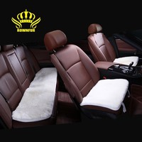 Square Car Seat Cover Universal Fake Fur On The Seat Is Very Mild Winter Warm Summer Is Hot