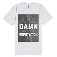 Bad Reputation Shirt-Unisex White T-Shirt