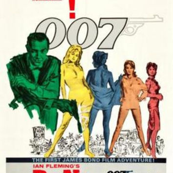 Dr No Movie Poster James Bond 24inx36in