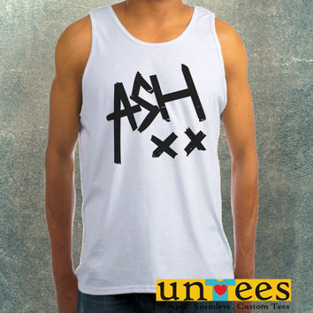 Ash xx Ashton Irwin 5 SOS Clothing Tank Top For Mens