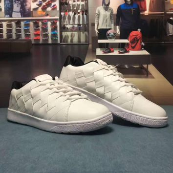 """""""NIKE"""" Fashion Casual Weave Breathable Leather Surface Plate Shoes Unisex Sneakers Cou"""