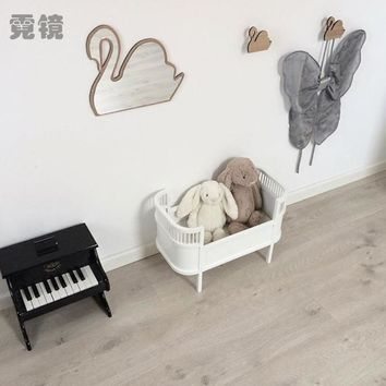 Ins Nordic Children Mirror Decoration Home Furnishing Baby Pictures Props Ornaments Hot Explosion Models Room Decoration GPD8285