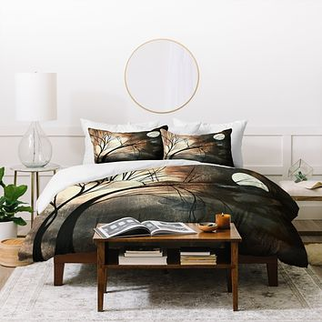Madart Inc. Lost Moon Duvet Cover