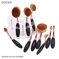 Docolor oval makeup brush holder 1 Set not including  oval brush set  only holder very useful toothbrush makeup brush  holder