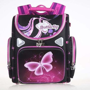 PEAPGB2 New Winx School Bag Orthopedic Girls Princess Children School Bags Sofia the First Monster High School Backpack Mochila Infantil
