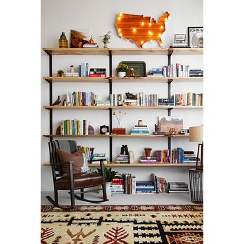 Ash Wall Mounted Shelving Unit
