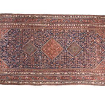 7.5x16 Vintage Afshar Carpet Runner