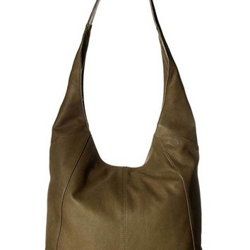 Lucky Brand Patti Leather Shoulder Bag Ivy Green