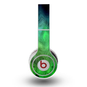 The Vivid Green Sagging Painted Surface Skin for the Original Beats by Dre Wireless Headphones