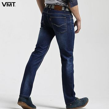 vomint Brand New fall Class Style Slim Men Jeans Straight Loose Mid Waist Young Men Long Pants Slim Straight Hot Sale S6CJ022
