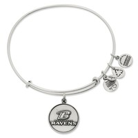 Baltimore Ravens Logo | Alex and Ani Russian Silver