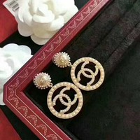 CHANEL Vintage 2-way Earrings