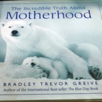 The Incredible Truth about Motherhood by Bradley Trevor Greive Hardcover w/DJ
