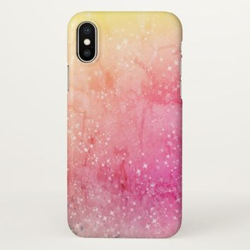 Claire Blossom beautiful gradation iPhone X Case