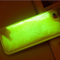 Glow In The Dark Liquid Phone Case For iPhone 5