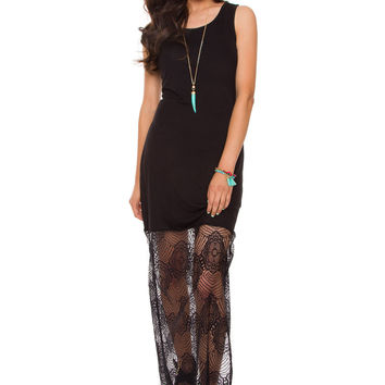 Jana Lace Maxi Dress