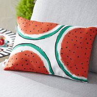 Party Watermelon Outdoor Pillow.