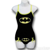 Batman Camisole & Panty Set Glow in Dark