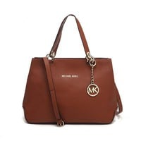 """Michael Kors"" Fashion All-match Simple Killer Bag Single Shoulder Messenger Bag MK Women Temperament Large Handbag"