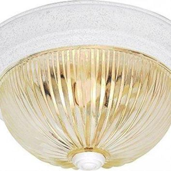 "Nuvo 76-192 - 13"" Close-To-Ceiling Flush Mount Ceiling Light"