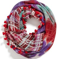 Collection XIIX 'Abstract' Double Sided Infinity Scarf