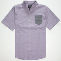 Retrofit Nathan Mens Shirt Purple  In Sizes