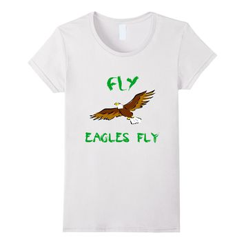 Flying Eagles Shirt saying FLY EAGLES FLY - Awesome Gift T-S