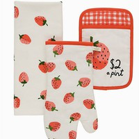 TC NOVELTY STRAWBERRIES 3PK SET