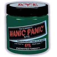 Manic Panic Semi Permanent Hair Color Cream Enchanted Forest 4 Oz