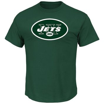 Majestic New York Jets Critical Victory Tee
