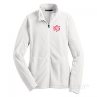 Monogrammed Lightweight Microfleece Jacket | Marley Lilly