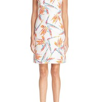 Fendi Bird of Paradise Print Quilted Dress | Nordstrom