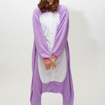 Purple Unicorn Kigurumi Onesuit
