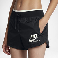 The Nike Sportswear Women's Woven Shorts.