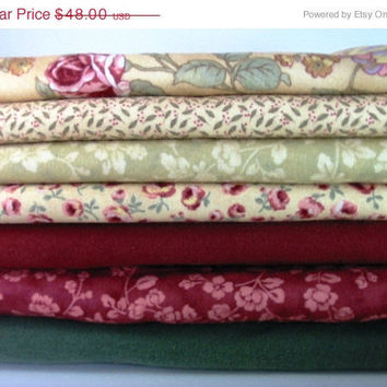 20% OFF SUMMER SALE Quilt Fabric Bundle Kit 10 Yards Plus Pattern / Instructions