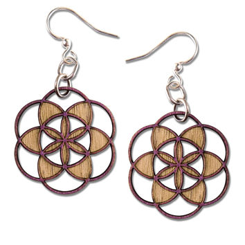 NEW! Seed of Life Earring