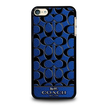 COACH NEW YORK BLUE iPod 4 5 6 Case